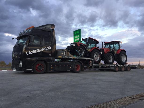 Trailer transport utilaje Agricole,Constructii,Concasoare
