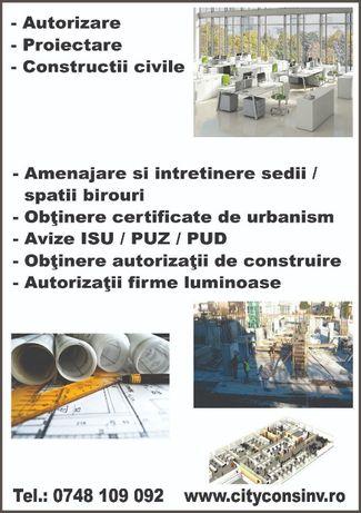 Certificat de urbanism, Arhitect, Autorizatie Constructie