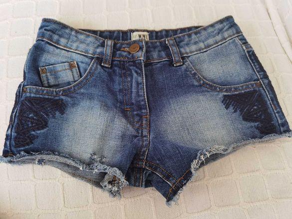Детски дънкови къси панталонки