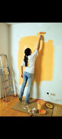 Эмульсия, побелка, покраска, уборка жасаймын
