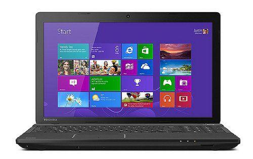 """Laptop Toshiba Satellite C55t-A5287 - 15.6"""" Core i3 2348M Touchscreen"""