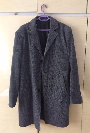 Palton material textil barbatesc
