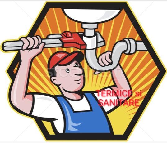 Instalator montaj centrale termice, sanitare, apa, termosemineu cluj