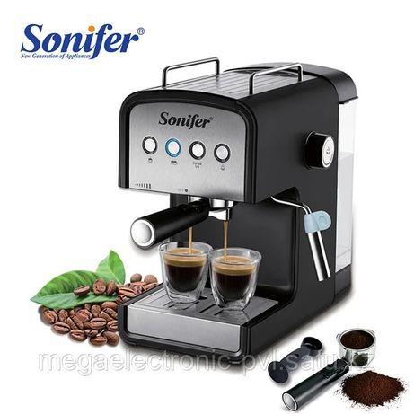 Кофемашина Sonifer SF-3529, 850W с капучинатором