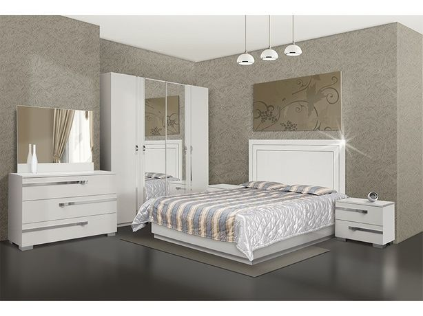 Бренд:Світ МеблівТип спальни:готовый комплектМодули:кровать, комод, шк