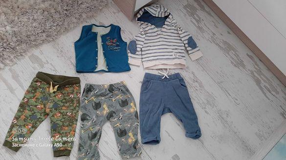 Лот бебешки дрехи 74/80