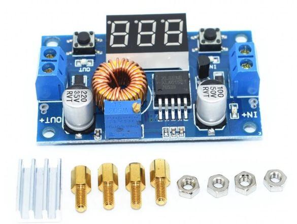 DC DC step down конвертори вход 5 - 38V, изход 1.25 - 36V; ток: 0 - 5А