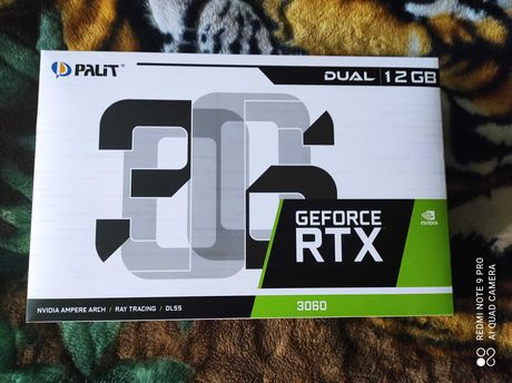 Palit GeForce RTX 3060 (новая запечатанная)