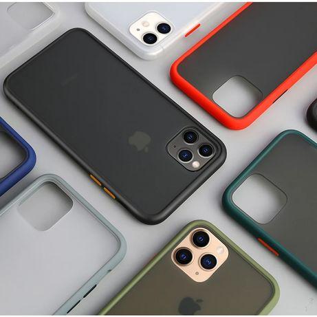 Цветен Кейс Rock Apple iPhone 6 6S 7 8 X XS XR 11 /11 Pro /11 Pro Max