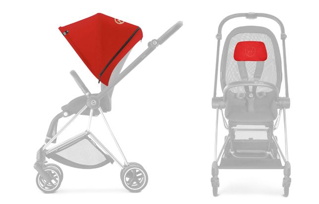 Cybex Mios Colour Pack Autumn gold/Burnt red