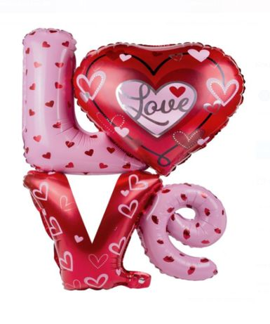 Balon Love 91x81 cm