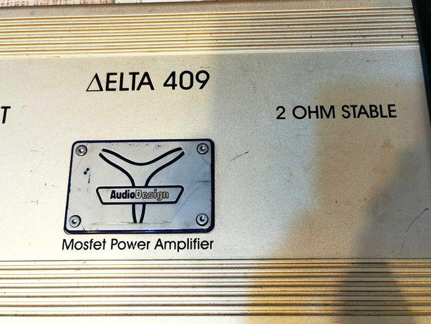 Audio Design Delta 409 stație, amplificator audio pt boxe mașină 900w