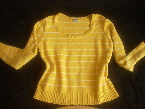 Best Basic - слънчево жълт дамски пуловер