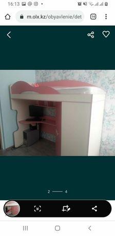 Продам детскую кровать-шкаф