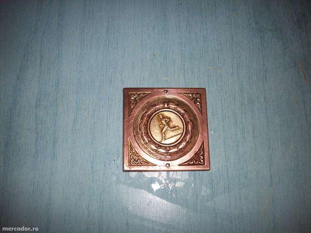 vand medalie din bronz deosebita, pentru colectionari.