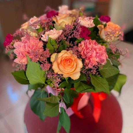 Цветы в коробке от 5990₸ > Розы >  Цветы > Букеты > Доставка Цветов 03