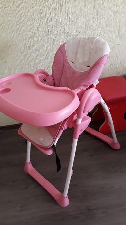 стульчик для кормления с 9 месяцев до 3-х лет