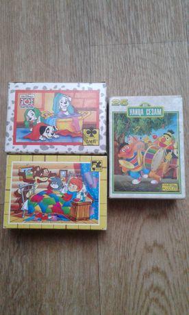 Пазлы детские (игра-мозаика)