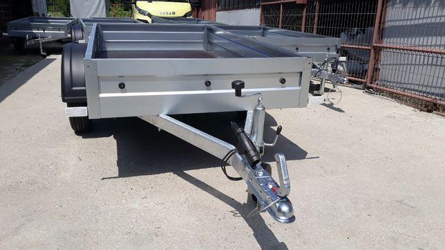 Remorca 750kg, Niewiadow BO7202XL (210cmX125cm),1 axa, NOUA, OFERTA!