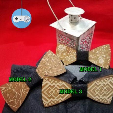 Модерни дървени папионки / Wooden bow tie