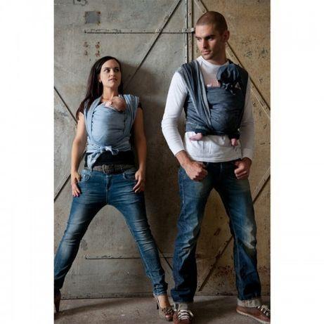 Нов тъкан слинг лен/памук ByKay Deluxe Denim размер 7