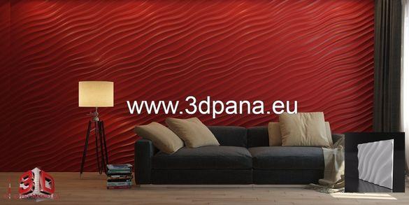 3D гипсови панели, Декоративни облицовки за стени, пана №0078