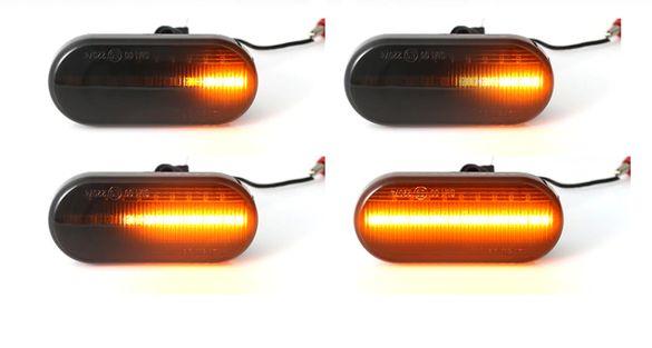 НОВО! Динамични LED мигачи за Голф 3,4 / Пасат / Бора и други