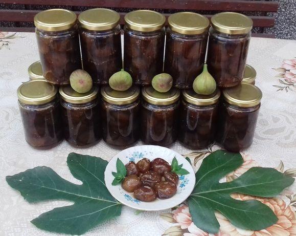 Домашно сладко от цели зрели смокини РЕКОЛТА 2020