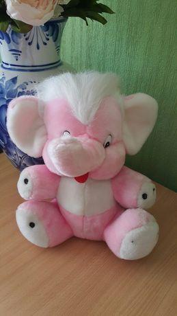 """Мягкая игрушка """"Розовый Слон"""""""