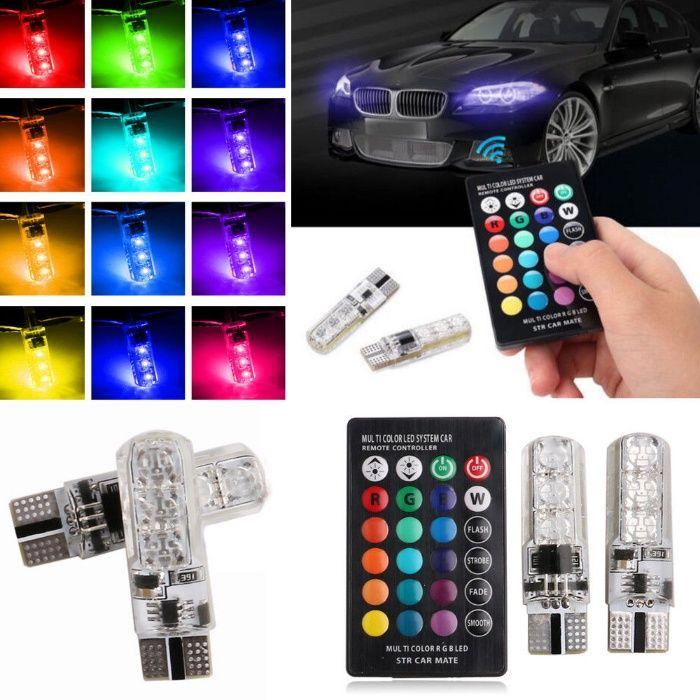 Цветни габарити с дистанционно управление смяна на цветовете LED