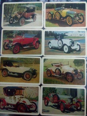 Carti vechi cu olds mobile/masini vechi set de 35 buc