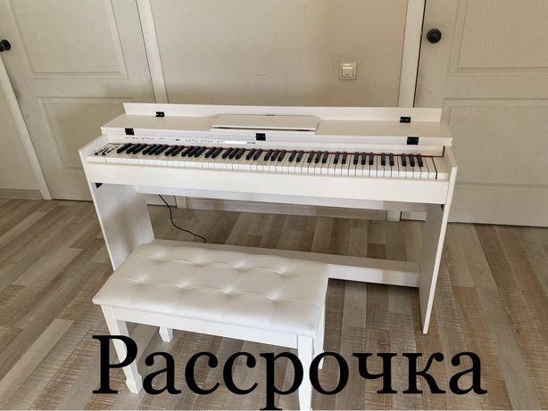 Высокого качества новое цифровое пианино с пуфиком