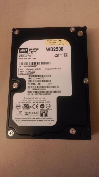 HDD Desktop 250GB WD2500 - Western Digital