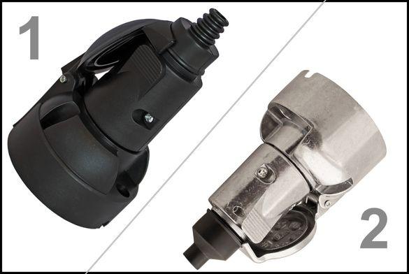 Комплект Куплунг Букса за Ремарке Теглич със 7пина Метална ПВЦ PVC 12v