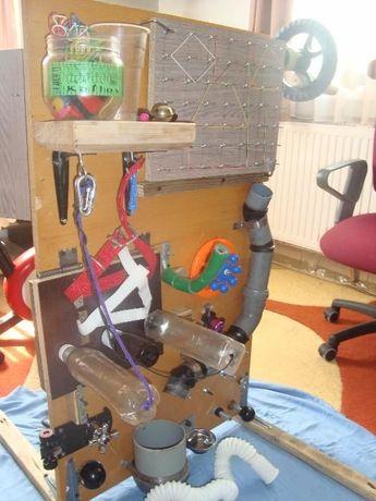 PLACA SENZORIALA tip Montessori - activitati copii