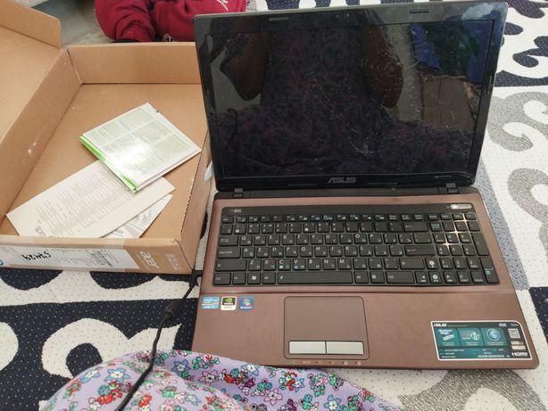 Ноутбук на ремонт с документами