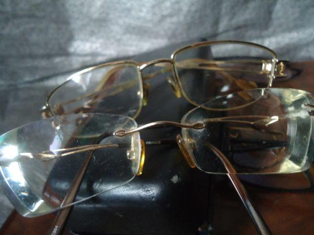 Оправы очки металл для диоптрии - фирменные состояние как новые