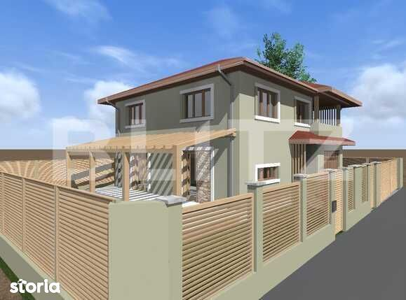 Casa individuala 220 mp utili, teren 330 mp, Suceagu