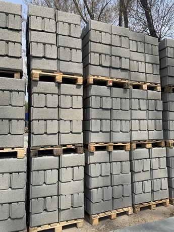 Сплитерные блоки, пескоблок , заборные кирпичи