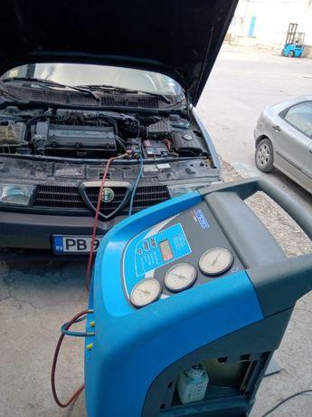 Автодиагностика.Зареждане на автоклиматици от80лв.до100лв.