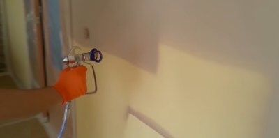 Безвъздушно боядисване / Airless painting