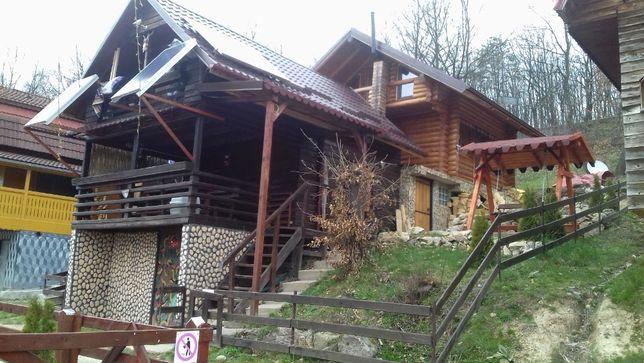cazare la cabana la lacul mujdeni Satu Mare.