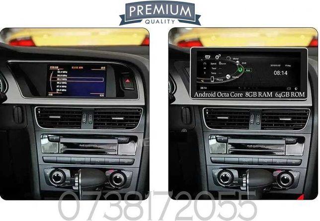 Navigatie Audi A5 A4 B8 8K AUDIQ5 MMI 2G MMI 3G GPS Android Internet
