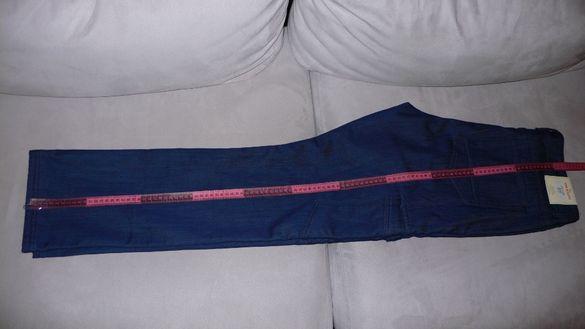 НОВИ: Панталони подплатени/ватирани (син и военен).Размер: 52-54 (W37)