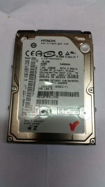 Hard laptop Hitachi 250 gb