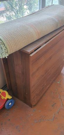 Стол книжка раскладной с металлическими ножками