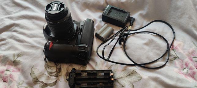 Vand Nikon D300s +Grip +Obiectiv +3 baterii