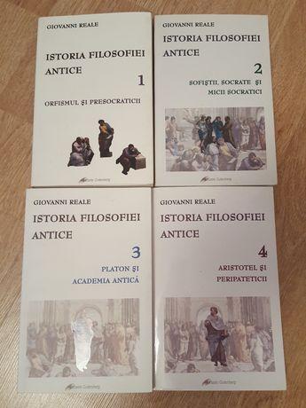 Set 4 carti din seria Istoria filosofiei antice