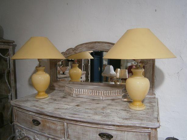 Set 2 veioze vechi sticla (Lampi/Lampadare/Corp iluminat/Decoratiuni)