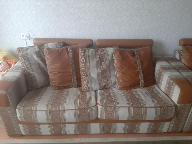 Мягкий уголок Потютьков 2 дивана и кресло